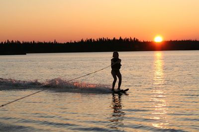 Rent your ski boat and equipment through Good Nuf Boat Rentals in Northern Wisconsin, quality boats at a fair rate for your Northwoods enjoyment.