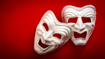 comedy and drama masks theatre director plays Boston theatre
