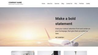 Mins Aircraft WordPress Theme