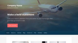 Primer Aircraft WordPress Theme