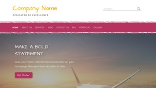 Scribbles Aircraft WordPress Theme