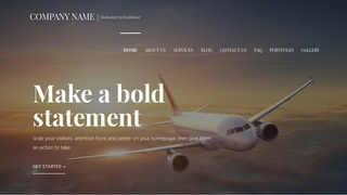 Velux Aircraft WordPress Theme