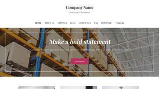 Uptown Style Manufacturing WordPress Theme