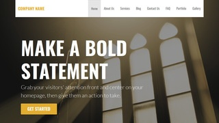 Stout Church WordPress Theme