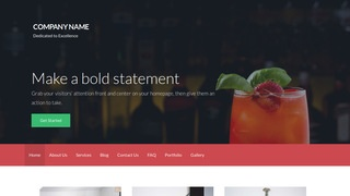 Activation Drinks and Beverages WordPress Theme