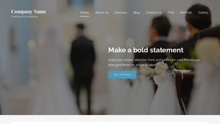 Lyrical Wedding Planner WordPress Theme