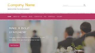 Scribbles Wedding Planner WordPress Theme