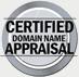Certified Domain Appraisal Seal