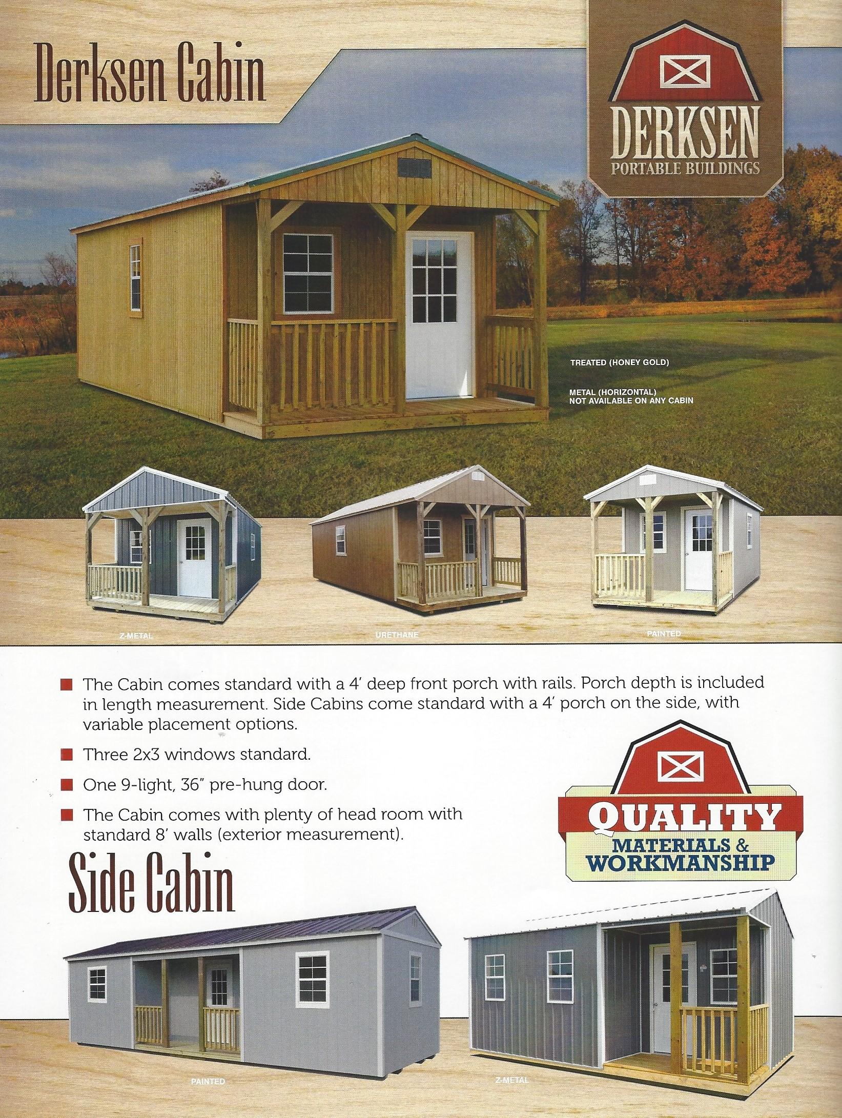 Derksen Storage Prices | Sealy Portable Buildings