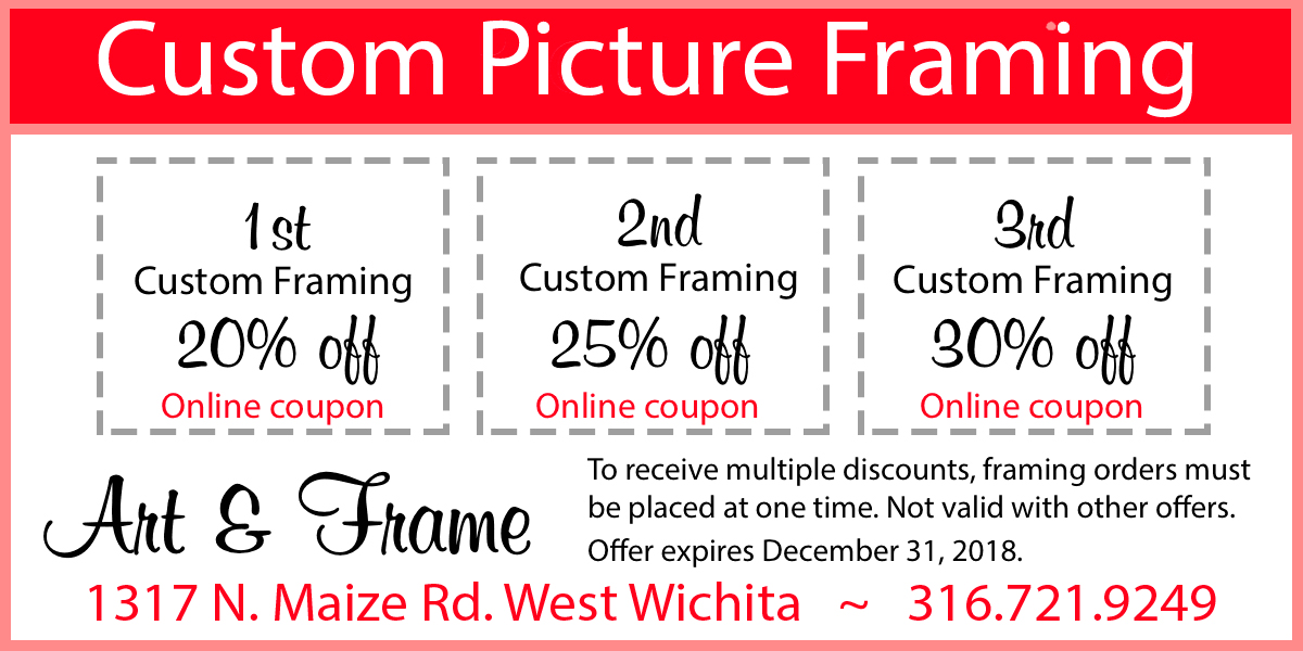 Art & Frame - Picture Framing Coupon, Coupon Specials | Art & Frame