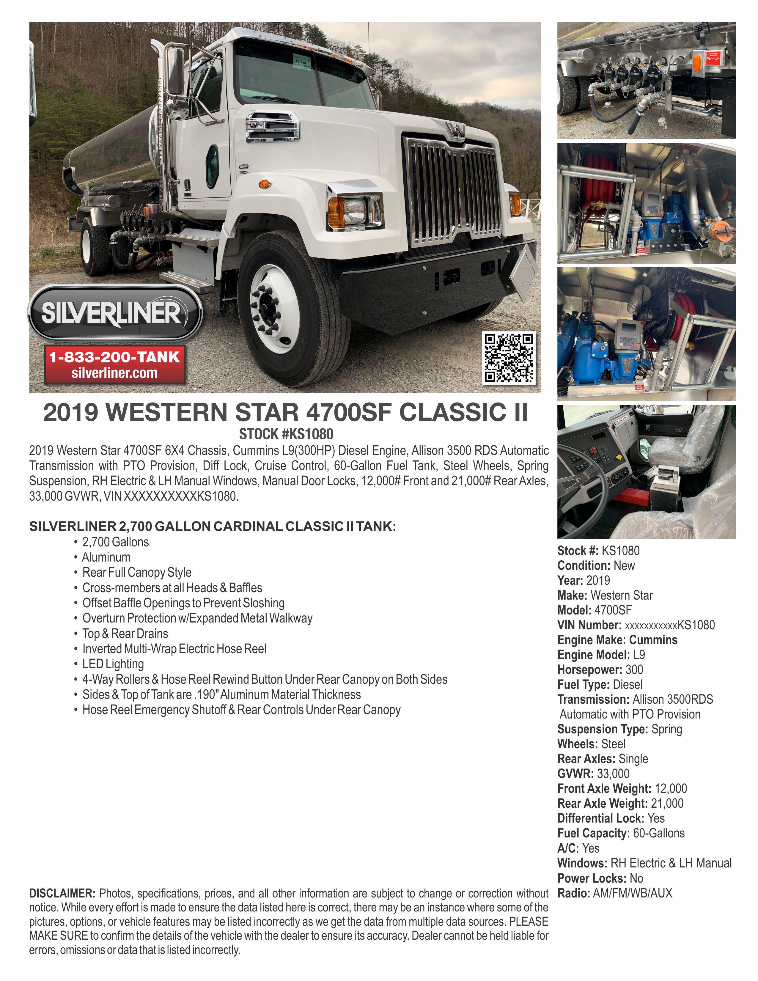 KS1080 WS 4700 CLASSIC II   SilverLiner LLC