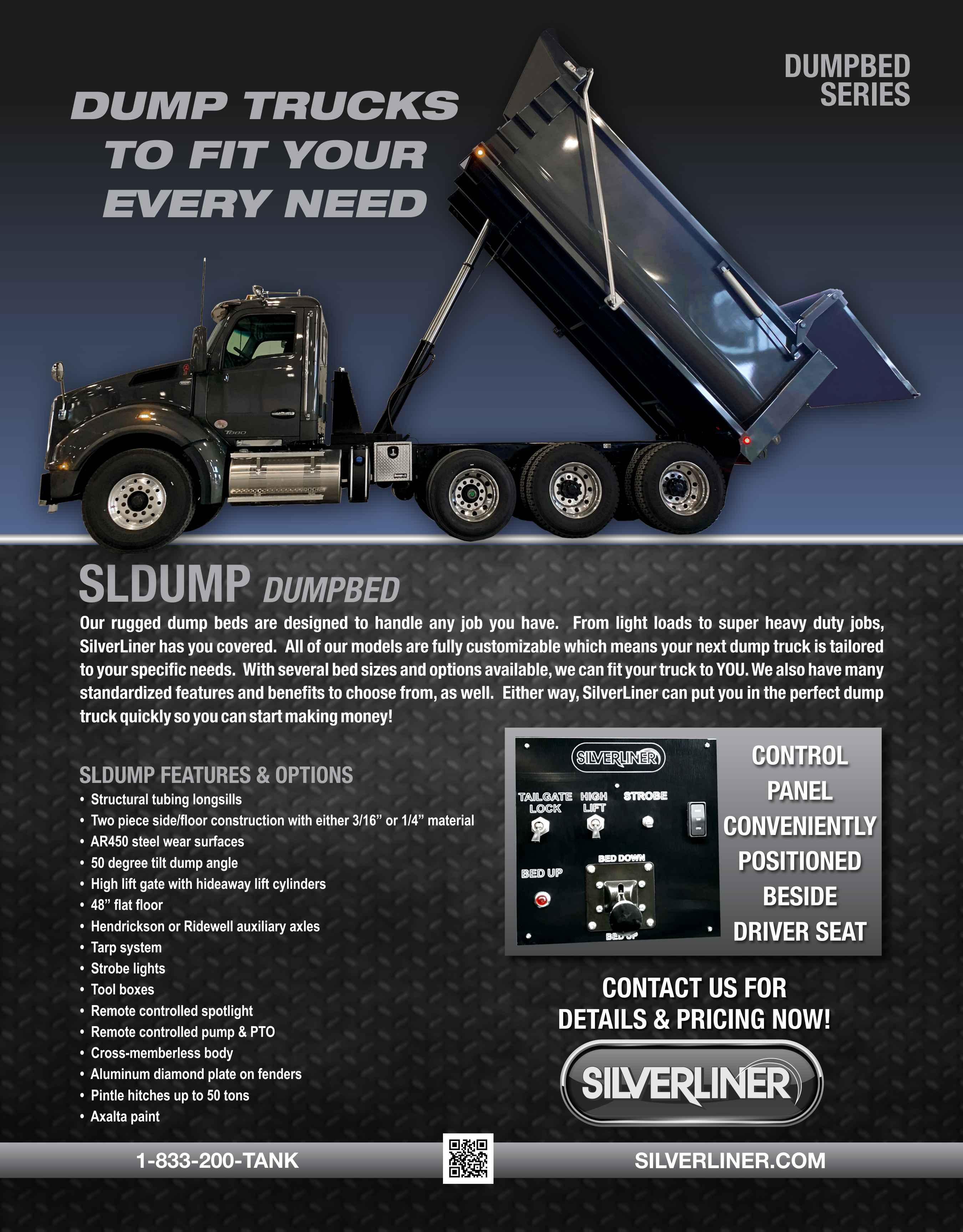 DUMP BEDS   SilverLiner LLC