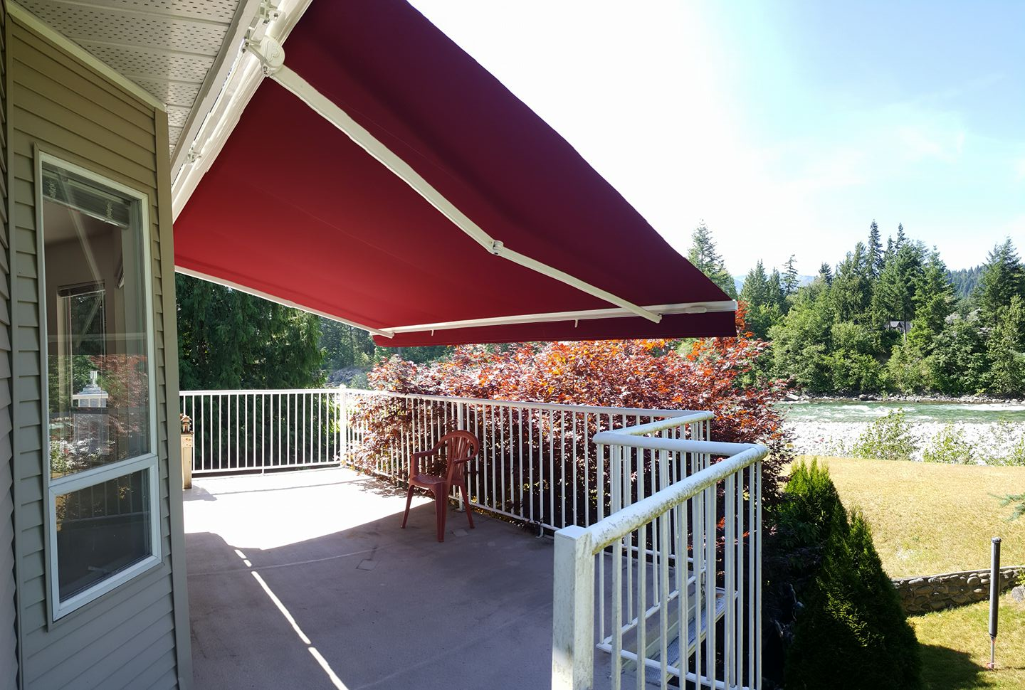 pergola install rm services per glass mild feet square and house awning supply promotions steel with to
