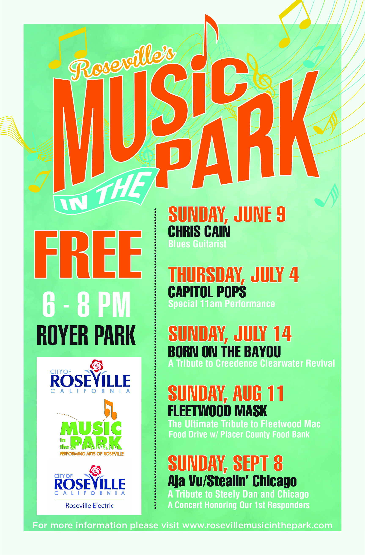 Roseville Music in the Park