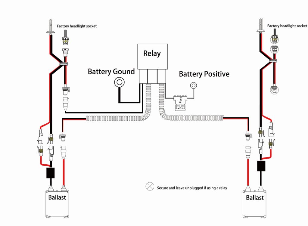 Halogen Wiring Diagram Relay | Wiring Diagram on