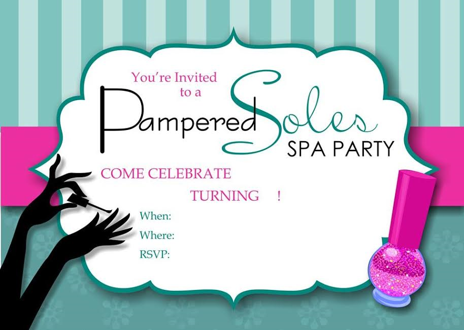 Pampered Soles Spa Parties - Kids Birthday Parties, Spa Party ...