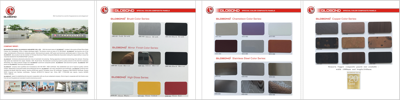 alucobond globond aluminum composite panels globond. Black Bedroom Furniture Sets. Home Design Ideas