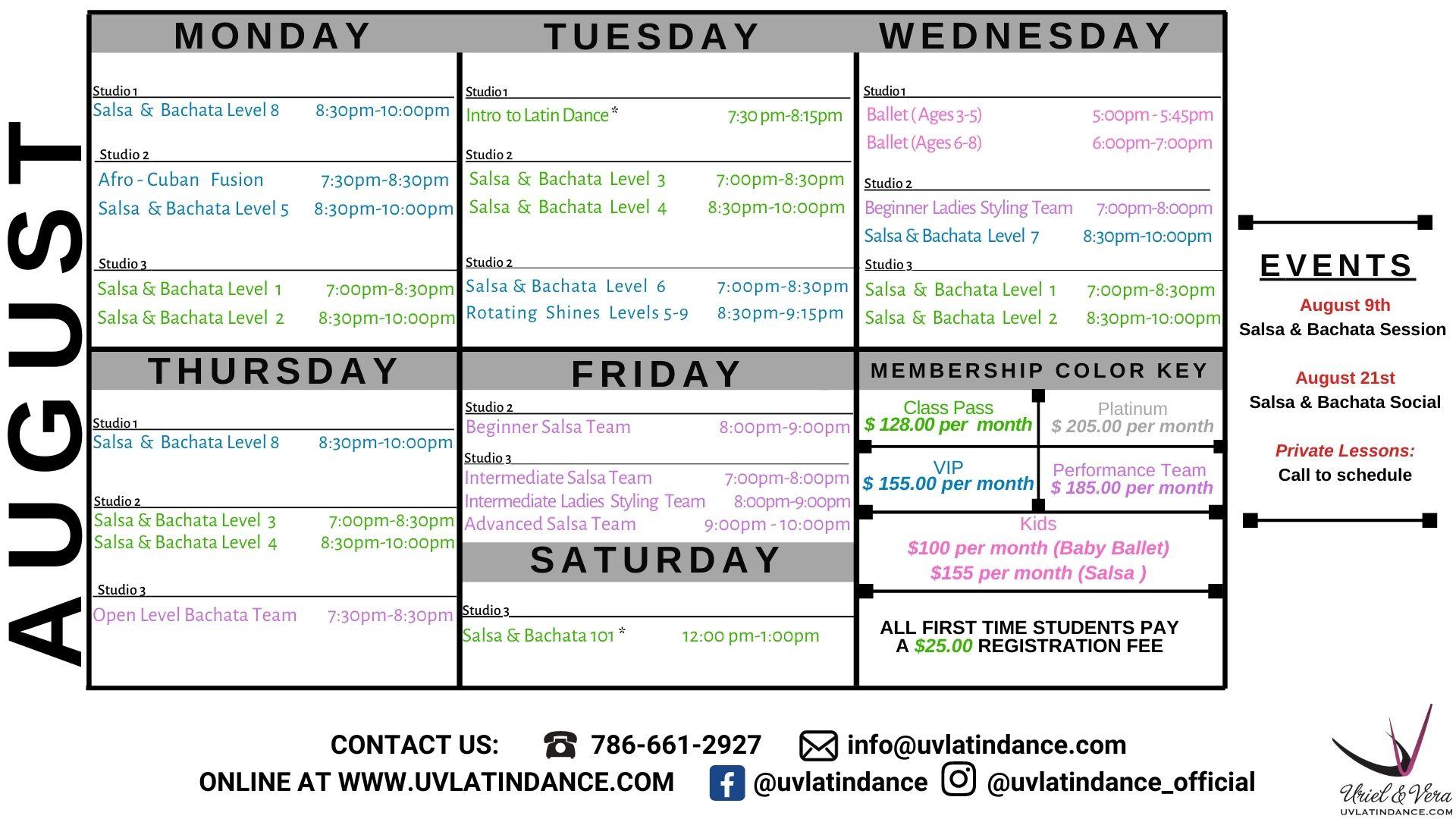 UV Latin Dance Academy - Salsa & Bachata Classes, Latin
