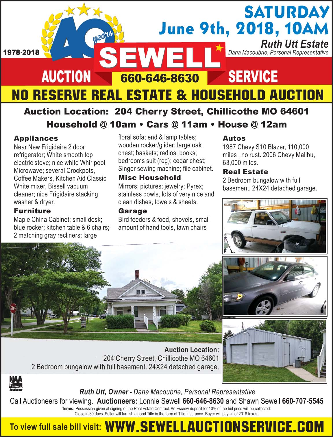 Rafter C Online Auctions