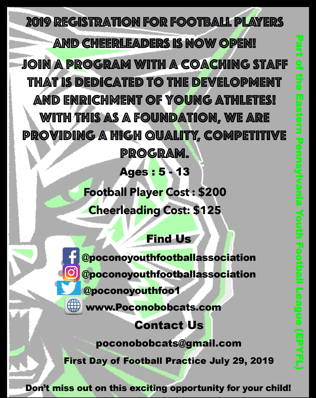 Pocono Bobcats Youth Football Association