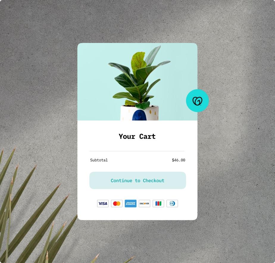 Online Store Payment Headline