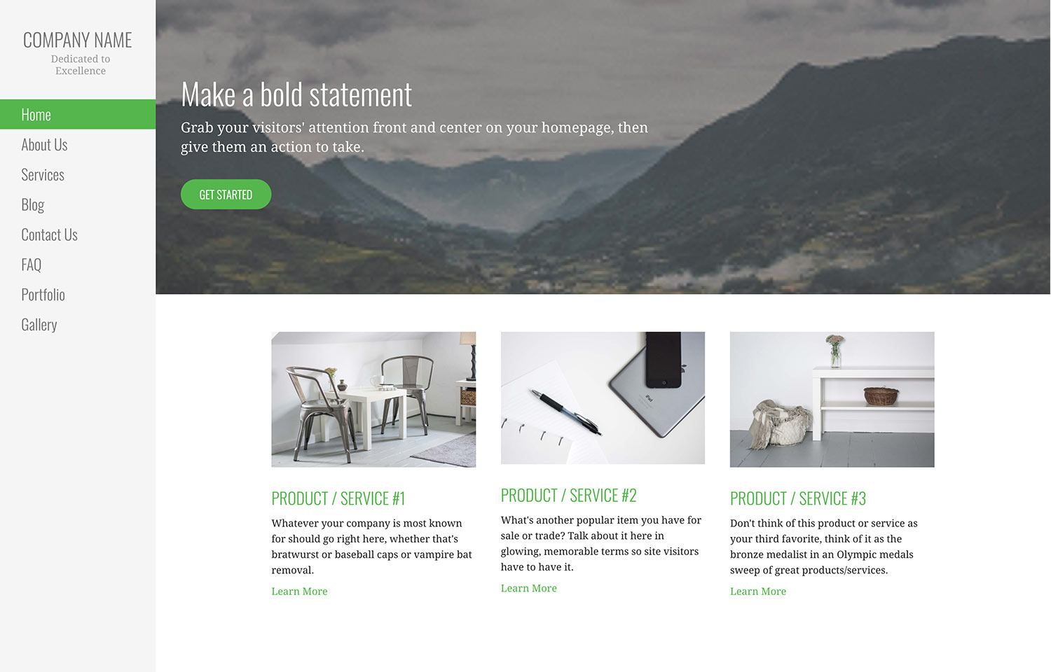 WordPress Themes | Responsive designs for your site - GoDaddy