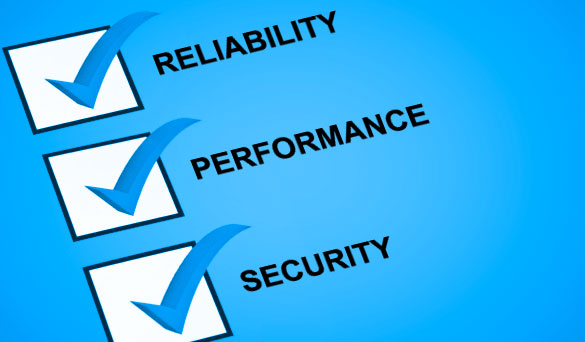 Reliability, Performance, Security