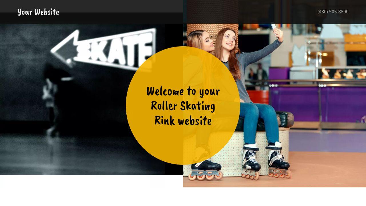 Roller skating rink hire - Roller Skating Rink Example 2