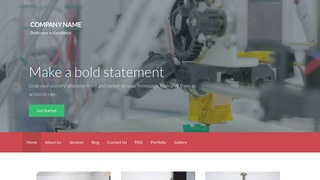 Activation 3D Printing and Services WordPress Theme
