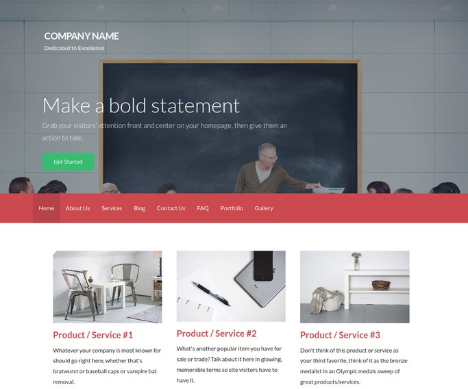 Activation Adult Education WordPress Theme