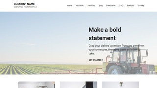 Mins Agricultural Service WordPress Theme