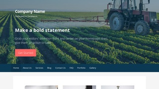 Primer Agricultural Service WordPress Theme