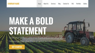 Stout Agricultural Service WordPress Theme
