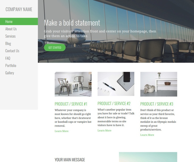 Escapade Airline WordPress Theme
