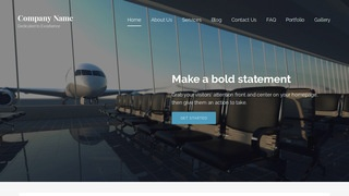 Lyrical Airline WordPress Theme