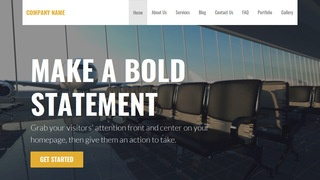 Stout Airline WordPress Theme