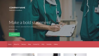 Activation Allergist and Immunologist WordPress Theme