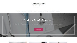 Uptown Style Anesthesiologist WordPress Theme