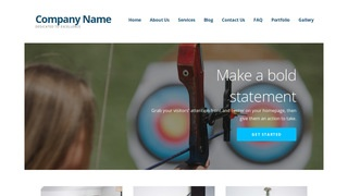 Ascension Archery and Shooting WordPress Theme