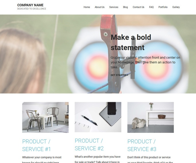 Mins Archery and Shooting WordPress Theme