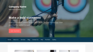Primer Archery and Shooting WordPress Theme