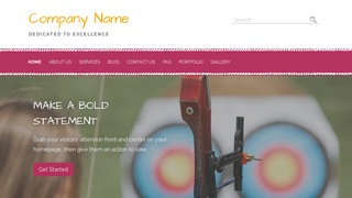 Scribbles Archery and Shooting WordPress Theme