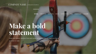 Velux Archery and Shooting WordPress Theme