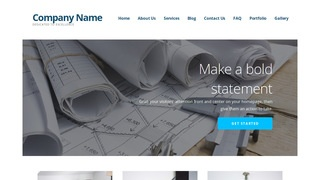 Ascension Architecture School WordPress Theme