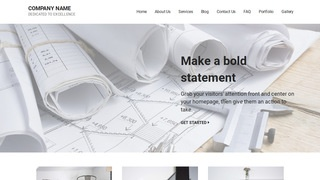 Mins Architecture School WordPress Theme