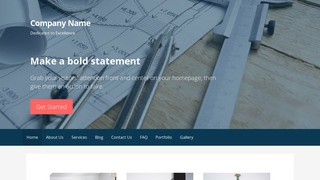 Primer Architecture School WordPress Theme