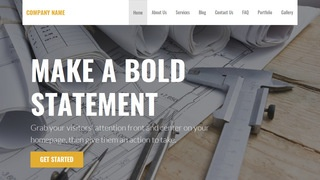 Stout Architecture School WordPress Theme