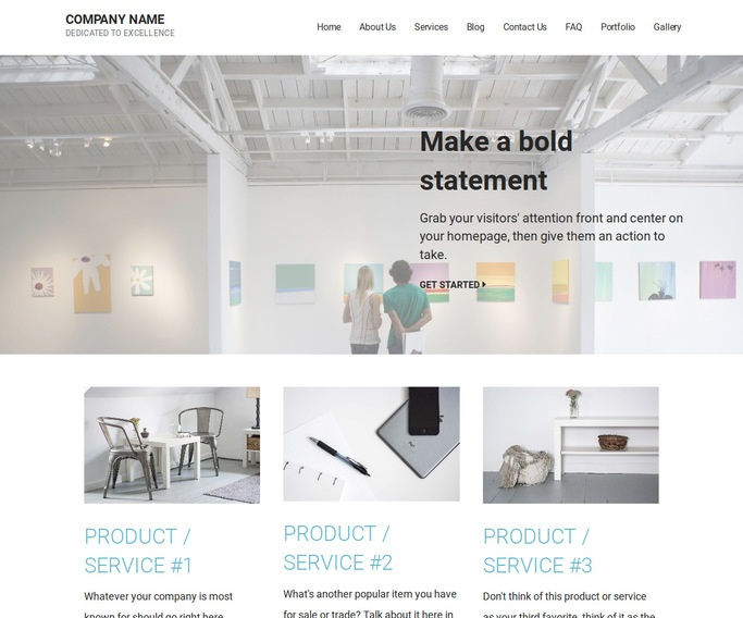 Mins Art Center WordPress Theme