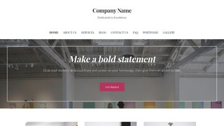 Uptown Style Art Center WordPress Theme