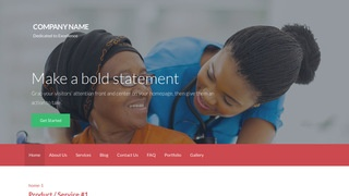 Activation Assisted Living WordPress Theme